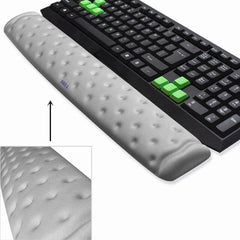 BRILA Memory Foam Ergonomics Mouse & Keyboard Wrist Rest Support Pad Cushion for Office Work and PC gaming, Wrist Pain Relief