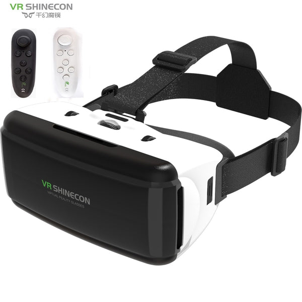 VR SHINECON BOX G06 VR Glasses 3D Glasses Virtual Reality Glasses VR Headset BOX For Google cardboard Smartp