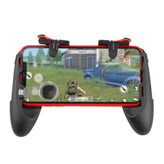 3 in 1 Mobile Gamepad Controller Joystick Trigger Fire Button Key with Phone Holder  for PUBG for iPhone Android IOS
