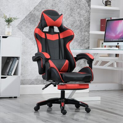 WCG Gaming Chairs Computer Chair Lifting up Office Chair for Cafe Internet Lounge