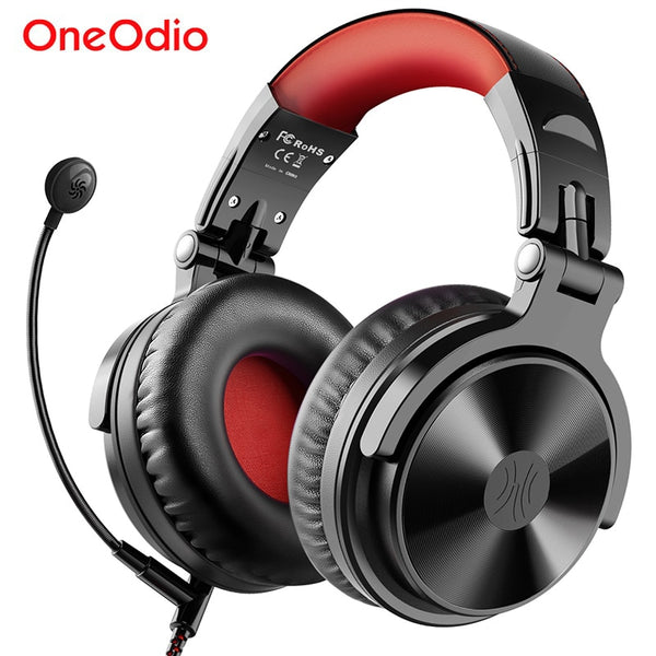 Oneodio Wired Wireless Bluetooth Headphone With Boom Mic Stereo Wireless Headphones Gaming Headset For Phone Computer PC Gamer