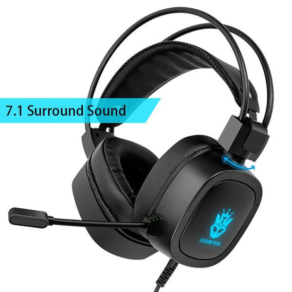 Gaming Headset 7.1 Virtual 3.5mm Wired Earphones RGB Light Game Headphones Noise Cancelling with Microphone for Laptop PS4 Gamer