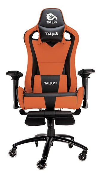 Talius Caiman gaming chair, footrest, 4D, Frog, metal base, 75mm wheels