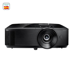 Optoma-projector 1080p HD28e, Full HD, 3800 lumens ANSI DLP, Home Cinema, compatible Gaming, PS4 and Netflix mode