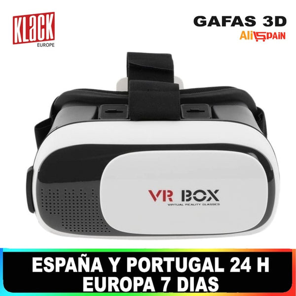 Glasses 3D Virtual Reality Bluetooth Vision Panoramica VR Box Stereo Blu-Ray Lenses All Models