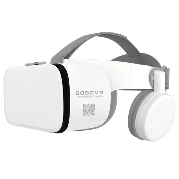 "BOBO VR Z6 Bluetooth 3D Glasses Virtual Reality Box Google Cardboard Stereo Mic Headset Helmet for 4.7-6.5"" Smartphone+Joystick"