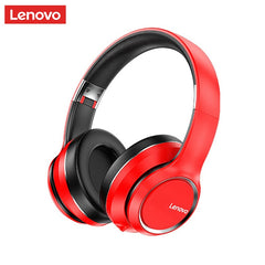 Lenovo HD200 Bluetooth Earphones Over-ear Foldable Computer Wireless Headphones Noise Cancellation HIFI Stereo Gaming Headset