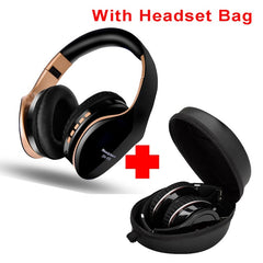 Wireless Headphones Bluetooth Earphone 5.0 Foldablel 3D Bass Stereo Noise Reduction Gaming Headset/Mic  For Mobile PC