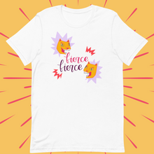 Load image into Gallery viewer, Twice as Fierce Unisex Tee