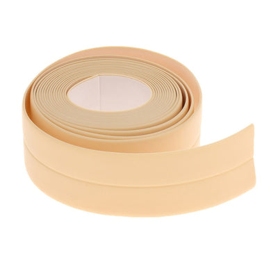 New Sealing Strip Bathroom Shower Sink Bath Caulk Tape White PVC Self Adhesive Waterproof Wall Tape for Bathroom Kitchen