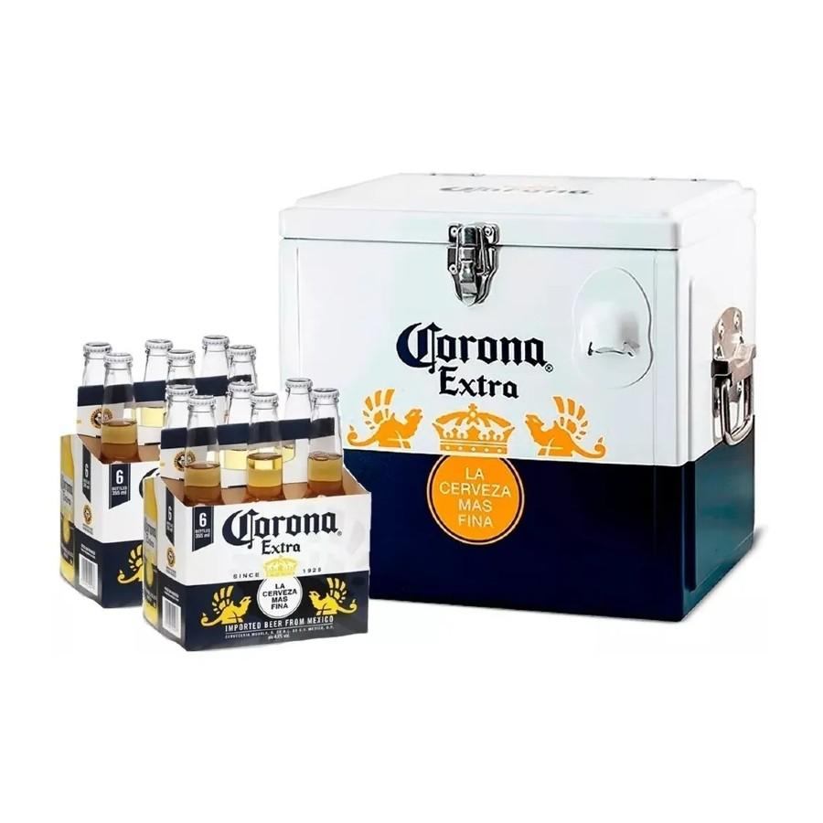 Pack 12 Corona 355ml + Cooler
