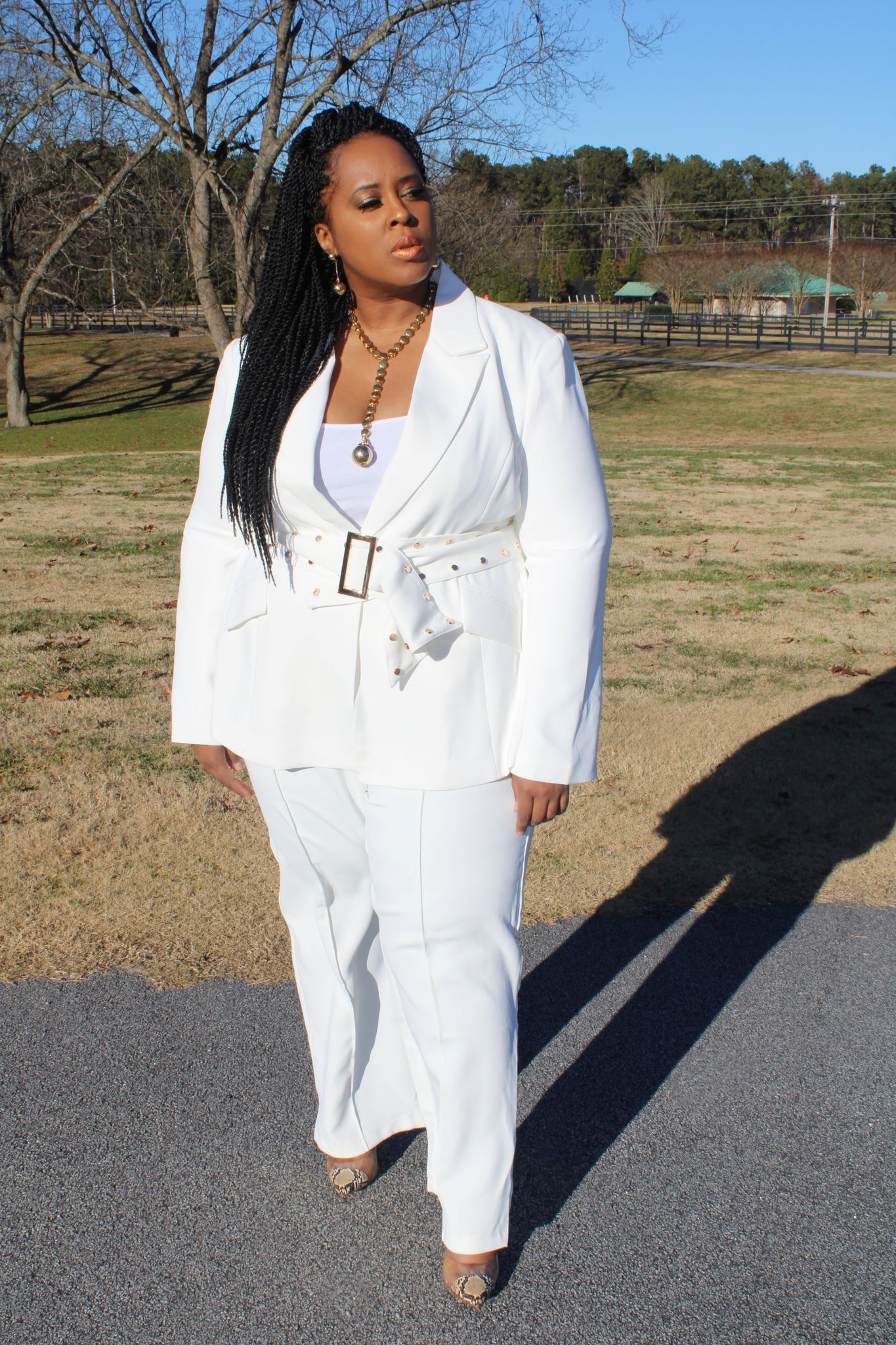 Bossed Up (White)