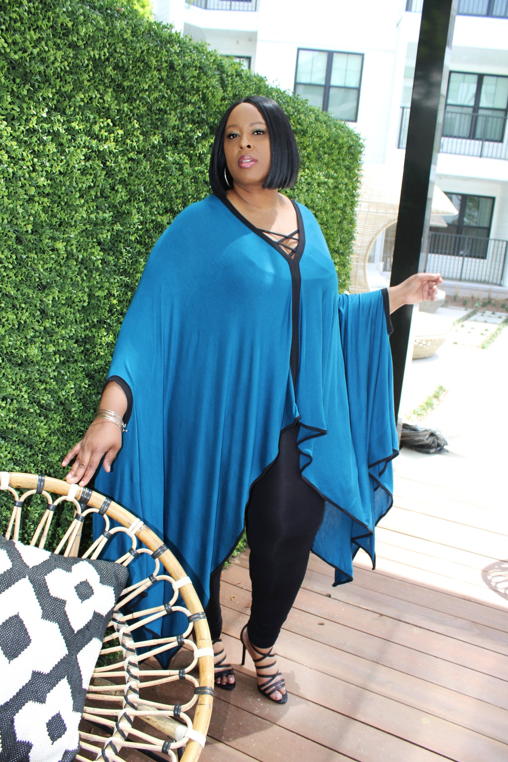 Bougie Auntie Vibes (Teal)