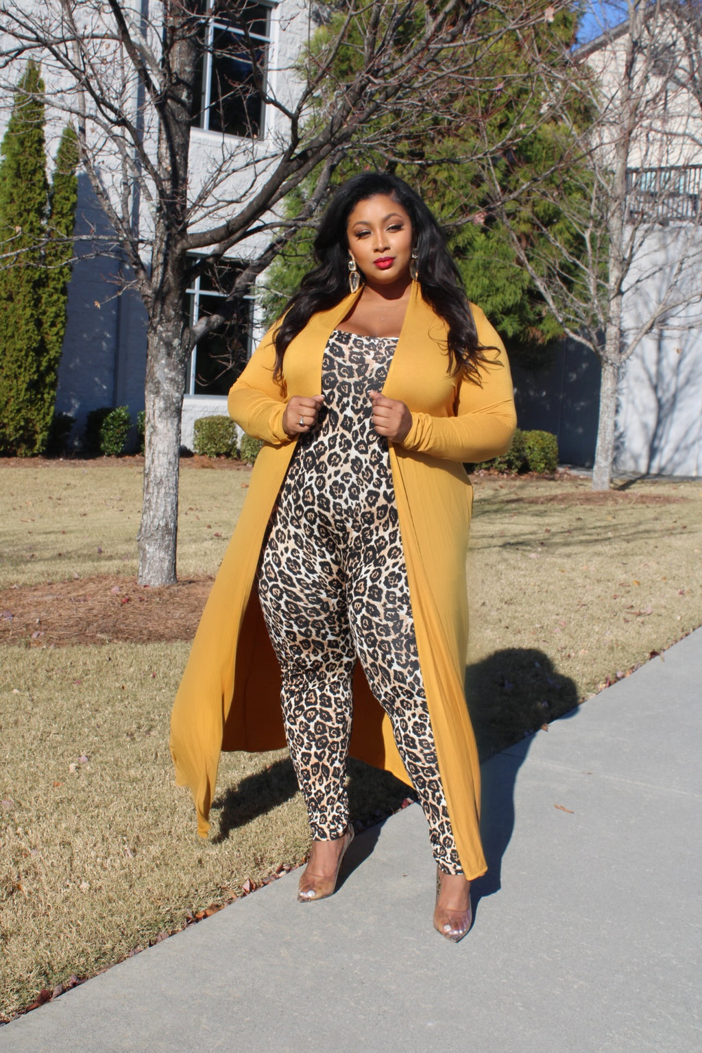 Your Favorite Catsuit (Leopard)