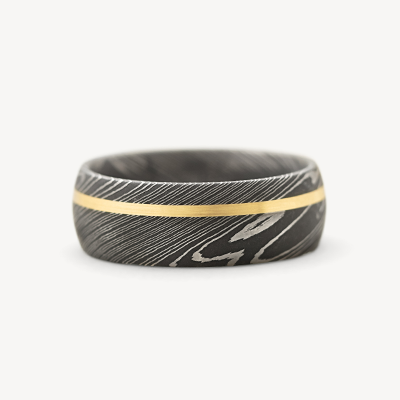damascus steel for mens and womens wedding rings