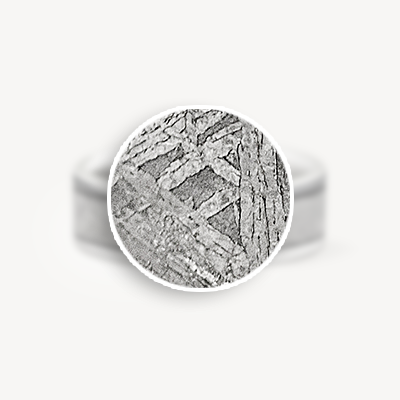 gibeon meteorite adding a piece of the sky to your mens or womans wedding ring