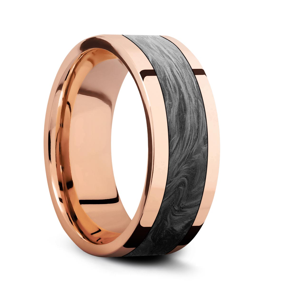 Rose Gold<br>&#43;Forged Carbon Fiber<br>&#43;Polish Finish