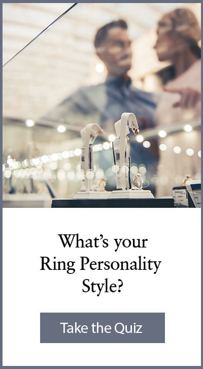 Take our wedding ring personality style quiz