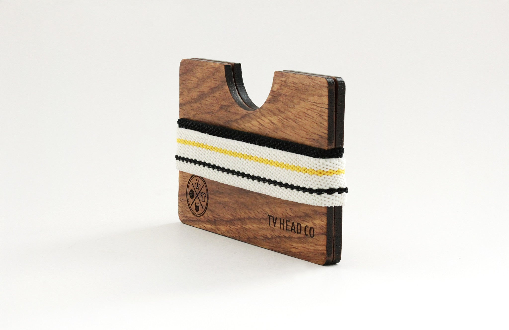 Wooden wallet Made with Kosso wood reclaimed