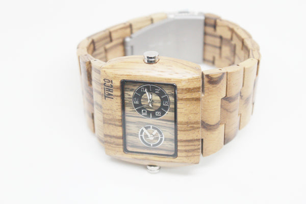 Wooden Watch Analog Cleveland