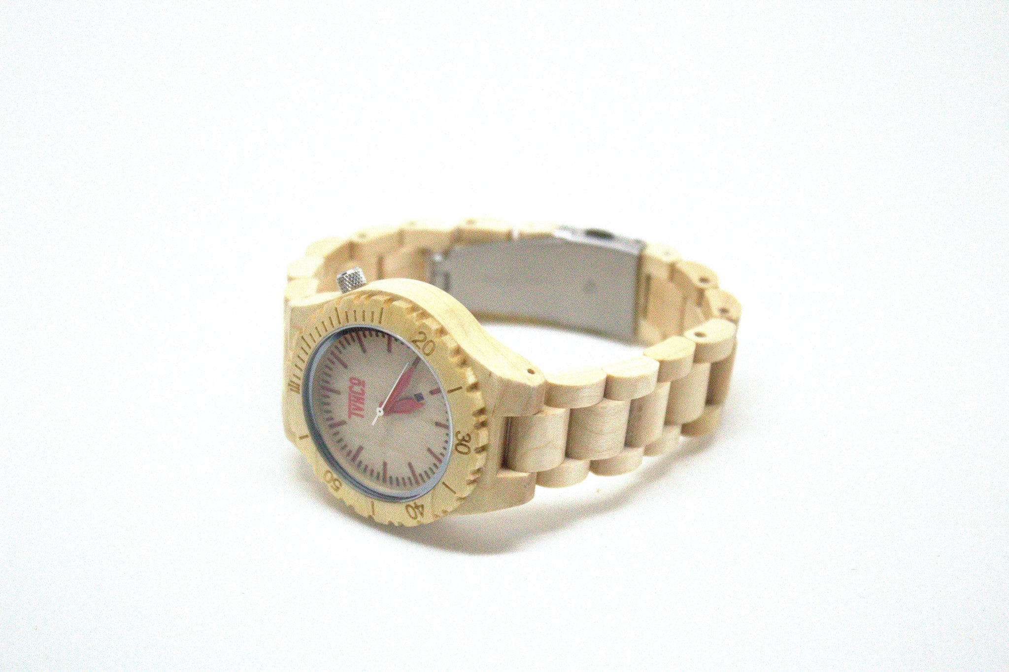 Women wooden watch maple