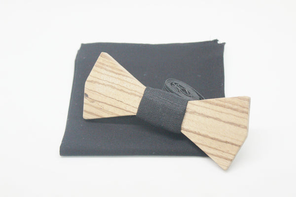 The Marty Dimond Wooden Bow Tie