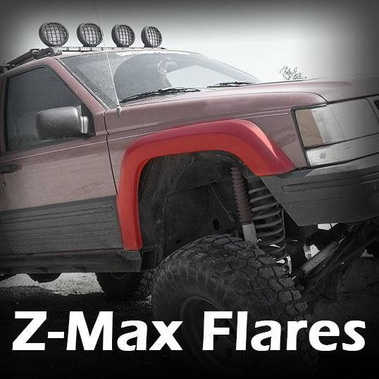 Z-Max Fender Flares - Notch Customs