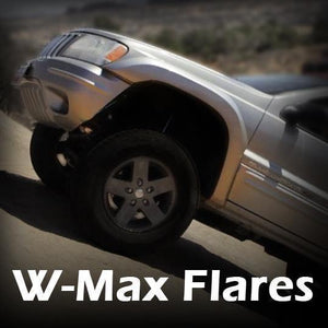 W-Max Fender Flares - Notch Customs