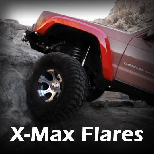 X-Max Fender Flares - Notch Customs