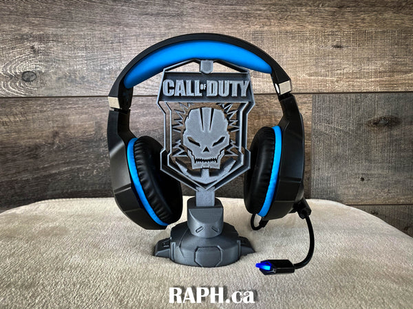 Call of Duty headset stand - 3d Printed with PLA