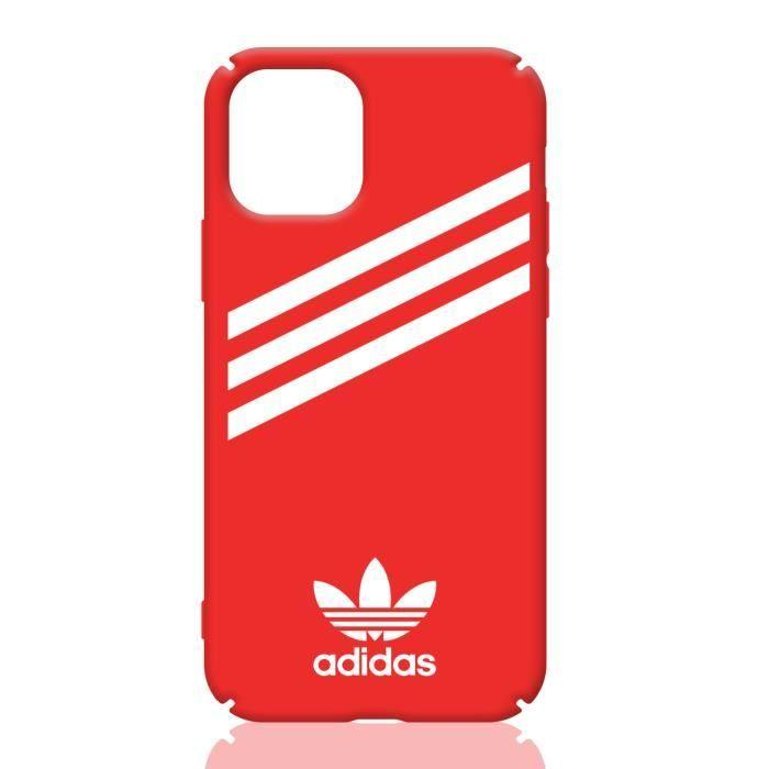 Coque iPhone 11Adidas Rouge Silicone en GEL TPU Souple Coque Compatible iPhone  11