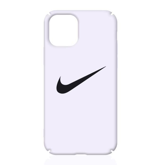 Coque Apple iPhone 11NIKE Logo Rose Coque Compatible Apple iPhone 11
