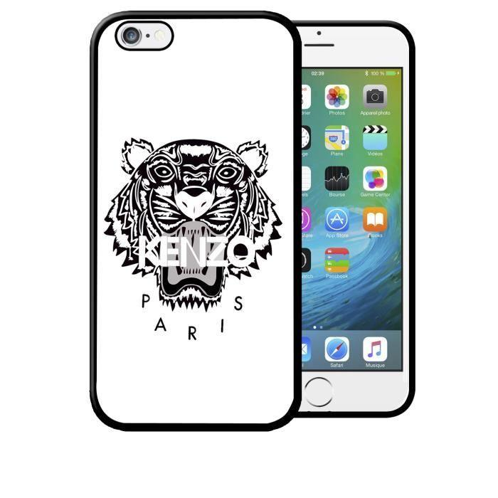 Coque iPhone 5C Kenzo Flowers Swag Vintage