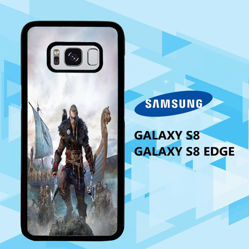 coque samsung galaxy S6 S7 S8 S9 S10 edge case L7688 vikings wallpaper iphone 117tW7
