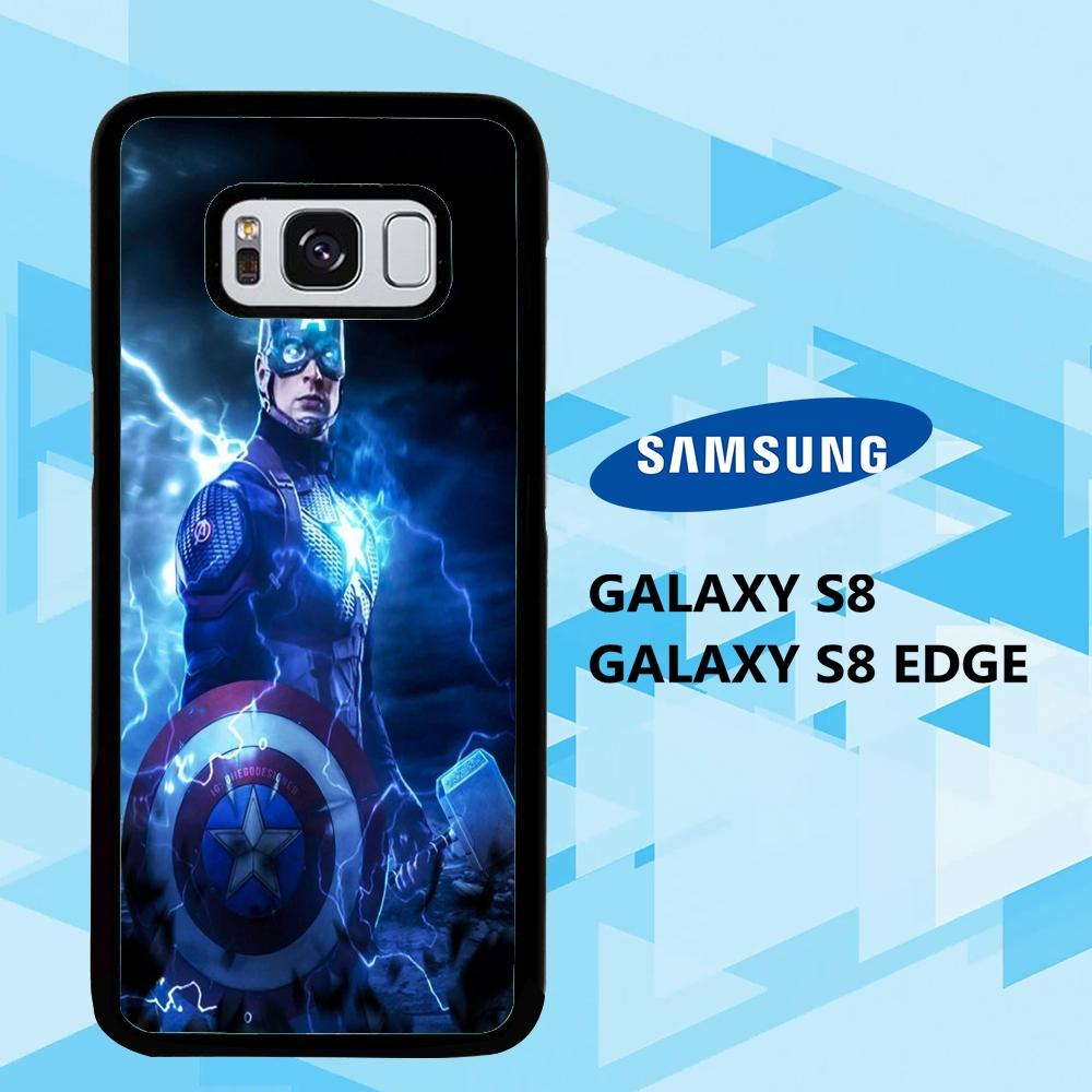 coque samsung galaxy S6 S7 S8 S9 S10 edge case V0770 wallpaper captain marvel 121cG2