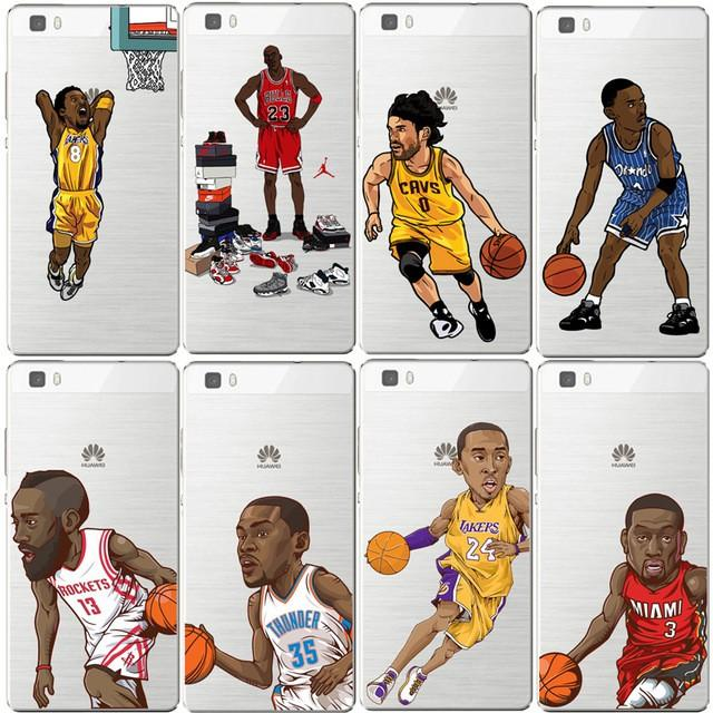 coque huawei p8 lite basketball