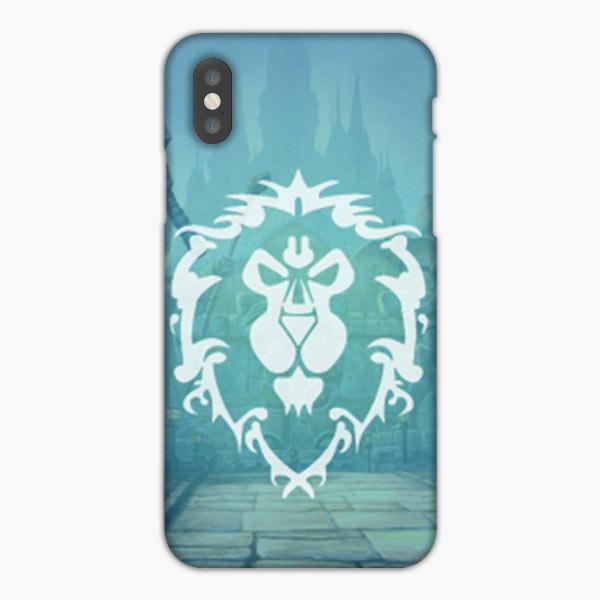 coque iphone 12 world of warcraft alliance