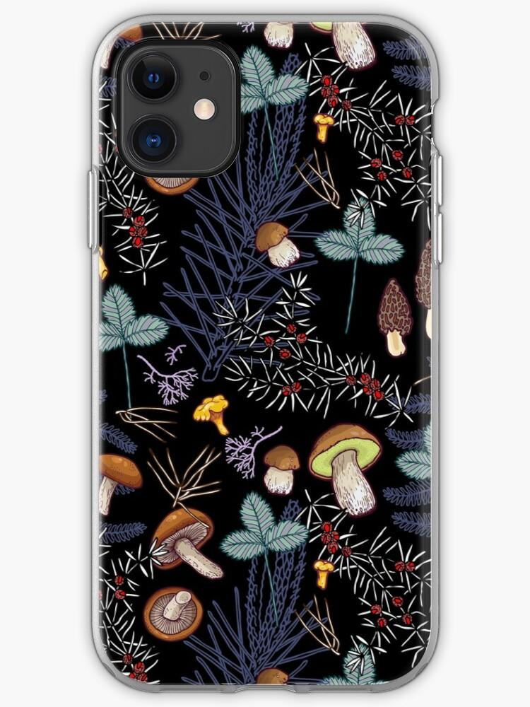 coque iphone 8 paysage sombre