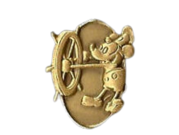 Pin's Steamboat Willie