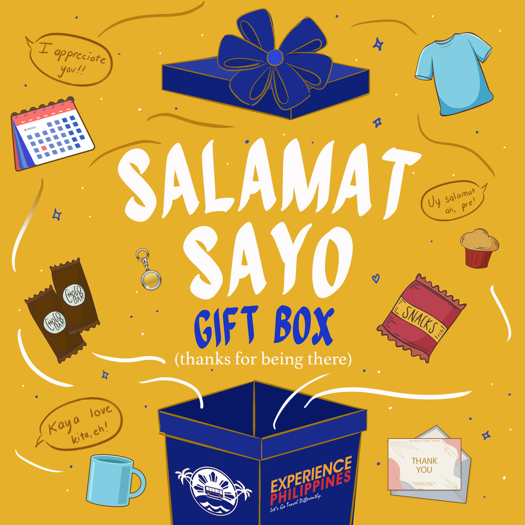 Salamat Sayo Gift Box - Thank You For Being There!