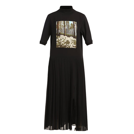 'The Trees' handcrafted dress