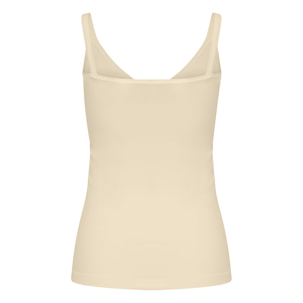 Conker Boutique Part Two Hydda Vest top cream back