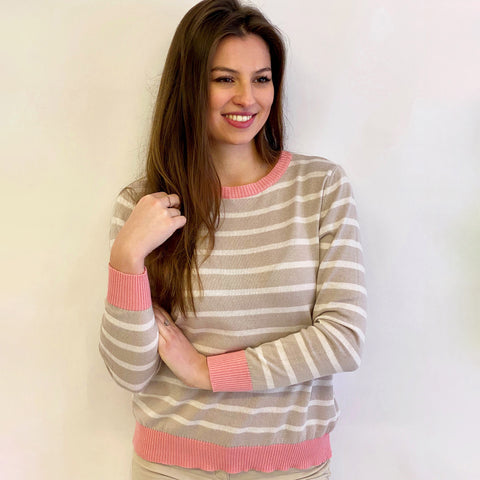 Conker Boutique Luella Brittany Jumper Pink Detail