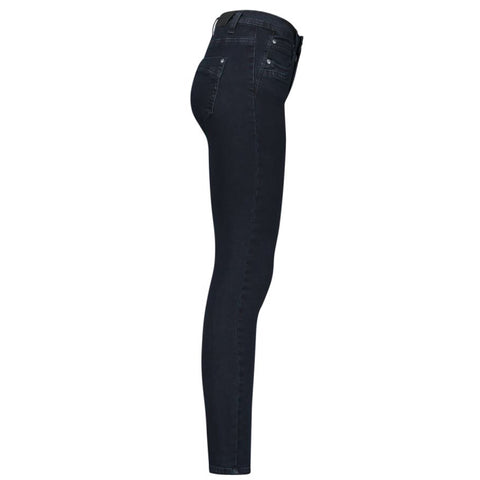 Conker Boutique Red Button Jimmy fitted jeans black