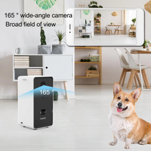 Load image into Gallery viewer, Automatic Pet Feeder with Camera