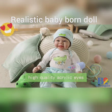 Load and play video in Gallery viewer, Realistic Baby Born Doll - Liam