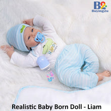 Load image into Gallery viewer, Realistic Baby Born Doll - Liam