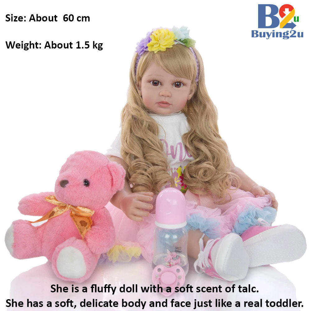 Realistic Child Toddler - Girl