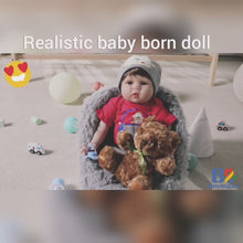 Load and play video in Gallery viewer, Realistic Baby Born Doll - Oliver
