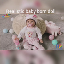 Load and play video in Gallery viewer, Realistic Baby Born Doll - Jenny